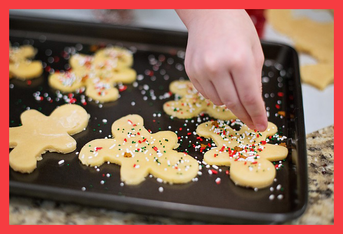 cookies red border