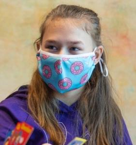 Child wearing mask 2