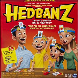 Blog - Family Game Night Hedbanz photo